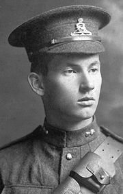Harold Innis in the First World War