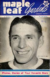Maple Leaf Gardens official program October 27, 1951