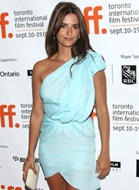Penelope Cruz at Toronto International Film Festival, now in progress, is probably not interested in yet another Canadian federal election either.