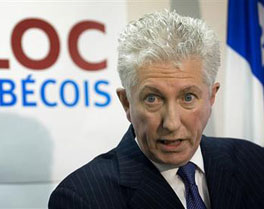 Bloc Quebecois leader Gilles Duceppe ... suddenly his poll numbers seem to be soaring ... and thanks to both Stephen Harper and Michael Ignatieff, the Quebecois have been recognized as a nation within a united Canada. (Does anyone still remember that?)