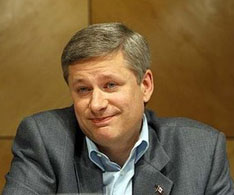 Minority Primer Minister Harper: does he really not want another election right now, even if it might give him a majority government at last? Maybe, maybe not.