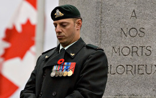 """Sacrifices made for humanity ... It is hopeful that more Canadians are putting aside time on Nov. 11 to honour our veterans and the freedoms they fought for."" (The Globe and Mail)."