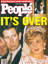 "Even People magazine in the USA was fascinated by the end of Charles's and Diana's marriage — which also prompted Michael Ignatieff to reflect that ""greatness is what monarchy once implied, and the greatness is irrevocably gone."""