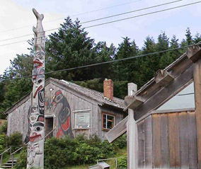 Old Massett on Haida Gwaii today. Haida Expeditions Ltd.