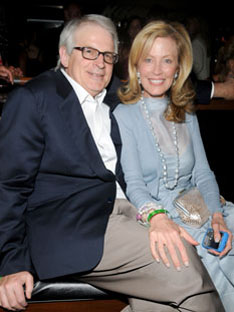 A 60-something David Stockman with his wife Jennifer at Aspen Art Museum dinner 2008. (Jennifer is also national co-chair of the Republican Majority for Choice, dedicated to preserving legal access to abortion.) Compliments New York Social Diary.