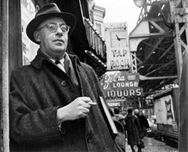 Saul Alinsky in Chicago.