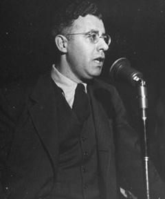 Saul Alinsky, Circa 1946. Photo: Myron Davis./Time & Life Pictures/Getty Images.