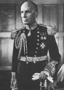 Vincent Massey, Governor General of Canada 1952–1959: the first holder of the modern office (since 1867) who was not a British aristocrat, and the last who looked like he was — as more or less first said by the Winnipeg wit Larry Zolf.