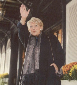 Pauline Marois at the Ritz-Carlton Montréal, 1228 Sherbrooke Street West, 2007, not long after she became leader of the  Parti Québécois, and  Leader of the Official Opposition of the National Assembly of Québec.
