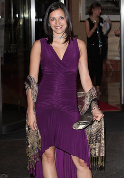 Mishal Husain arrives for the Asian Women of Achievement Awards at Hilton Park Lane Hotel on May 20, 2009 in London, England. Photo by Tim Whitby/Getty Images.  On the morning of May 7, 2010 she also made the BBC TV news on the British election seem especially interesting to viewers throughout the global village.