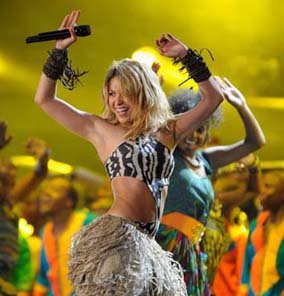 Shakira performs at kick-off concert for 2010 World Cup at Orlando Stadium in Soweto, South Africa. Photograph by: Stuart Franklin, Getty Images. Meanwhile, what if we suddenly did stumble into a surprise federal election in Canada, over the Afghanistan documents that almost everyone has already forgotten?