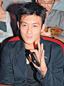 Edison Chen, late 2009 ... a young man with an older and wiser face.