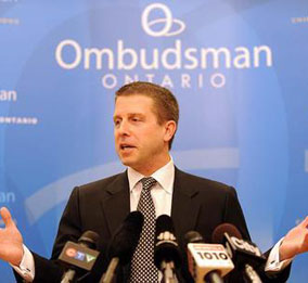 André Marin, Ombudsman Ontario. He has just been appointed to a second five-year term, but how good is he, really?