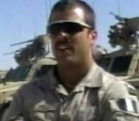 Captain Robert Semrau, a member of the Operational Mentor Liaison Teams in Afghanistan, around the time he was charged in early 2009. Photograph by Canwest News Service.