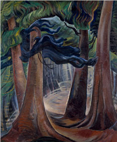 """Emily Carr, """"Among the Firs."""""""