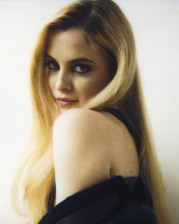 Elvis Presley's granddaughter Riley Keough in RUSSH magazione, 2009. Riley plays Jack in 'Jack and Diane'.