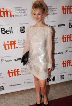 Juno Temple at the Toronto International Film Festival, 2009. Juno plays Diane in 'Jack and Diane'.
