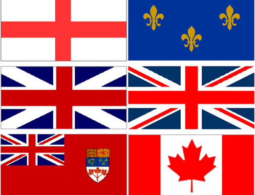 Canadian Flags Canadian Flag Evolution